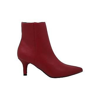 Rampage Women's Shoes Teeny Leather Pointed Toe Ankle Fashion Boots