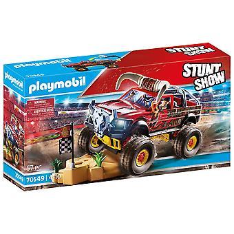 Playmobil Stunt Show Bull Horn Monster Truck