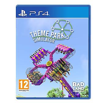 Theme Park Simulator Standard Edition PS4 Game