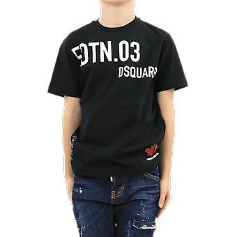 Dsquared2 T-Shirts Black DQ0030D00MMDQ900 Top