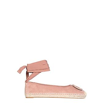Tory Burch 78791667 Women's Pink Leather Espadrilles