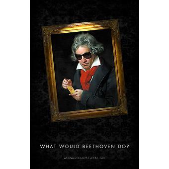 O que faria Beethoven Movie Poster (27 x 40)