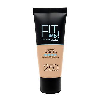 Maybelline New York Fit Me Matte + Poreless Foundation - 250 Sun Beige