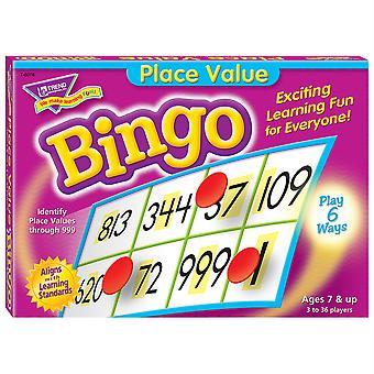 Gioco di bingo di valore del luogo