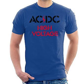 AC/DC High Voltage Miesten t-paita