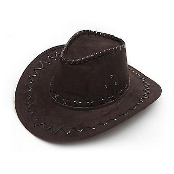 Unisex Cowgirl Cowboy Hat Child Wild West Fancy Party Costumes Casual Sun