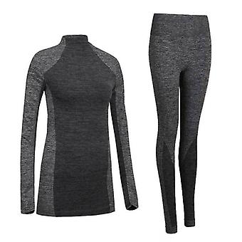 Winter Thermal Underwear Quick Dry Stretch Anti-microbial Warm Casual Clothing