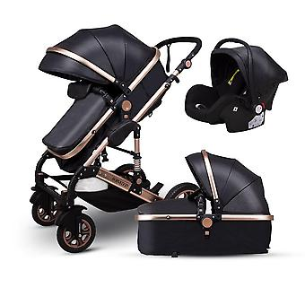 Baby Stroller, High, Landscape Trolley, Can Sit, Lay Down, Luxury Strollers,