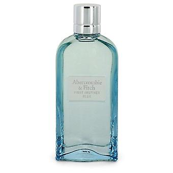 First Instinct Blue Eau De Parfum Spray (unboxed) By Abercrombie & Fitch 3.4 oz Eau De Parfum Spray