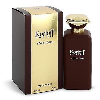 Korloff Royal Oud Eau De Parfum Spray (Unisex) By Korloff 3 oz Eau De Parfum Spray
