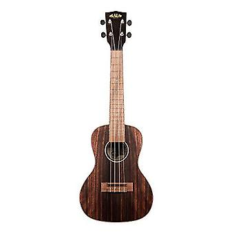 Kala ka-eby-c ebony concert ukulele natural