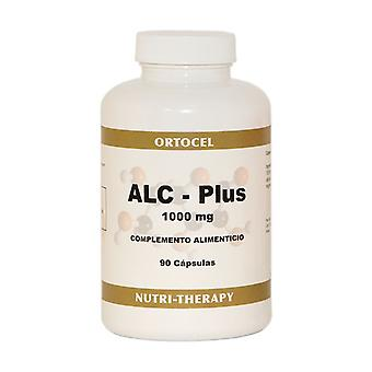 Acetyl L-Carnitine 90 capsules of 1000mg