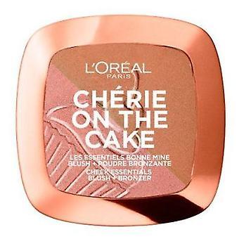 L'Oréal Paris Cherie On The Cake Blush + bronzer