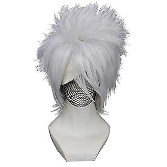 Perruques anime Naruto Hatake Kakashi Perruques de cheveux synthétiques