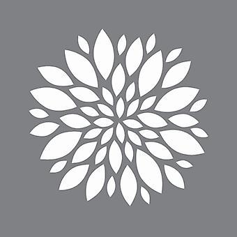 Decoart Stencil - Zinnia