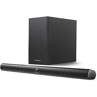 HanFei DSB 990 2.1 Soundbar mit Subwoofer, schwarz