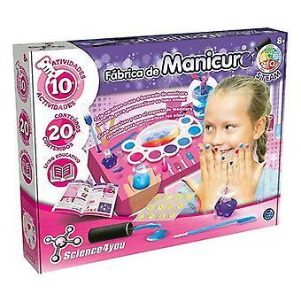 Manicure Set Crea tus Esmaltes Science4you