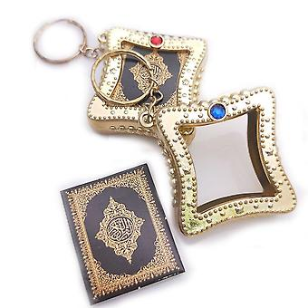 Muslim Islamic Mini Pendant Keychains Key Rings