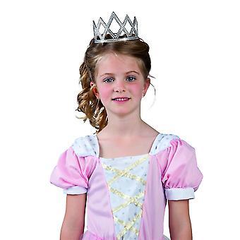 Diadème à strass princesse enfant
