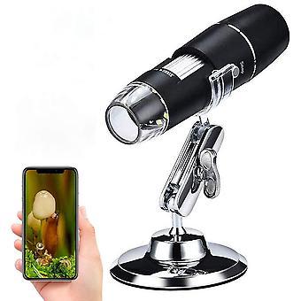 FengChun WiFi mikroskop, 50X bis 1000x Digital Mikroskoplupe, Mini-Taschen-Handmikroskopkamera mit