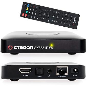 FengChun SX888 IP WL H265 Mini IPTV Box Receiver mit Stalker, m3u Playlist, VOD, Xtream, WebTV [USB,