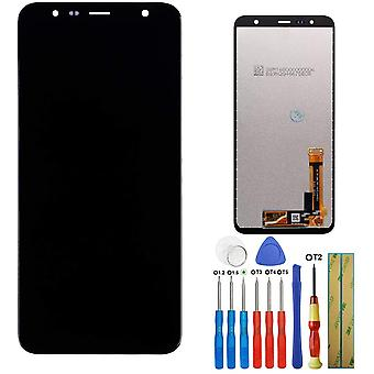 FengChun Display Kompatibel mit Samsung Galaxy J4 Plus J6 Plus 2018 J4+ J415 SM-J415F J415G J415M