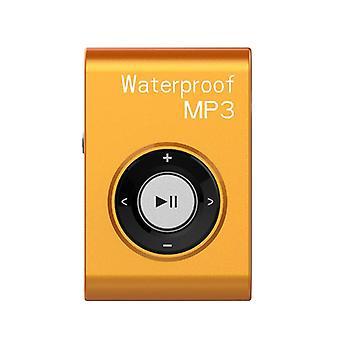 Wasserdichte MP3-Player Horse Riding MP3(Orange)
