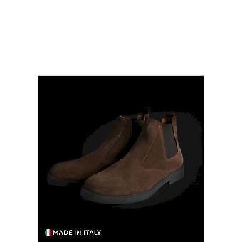 SB 3012 - Shoes - Ankle Boots - 100D-CAMOSCIO-MARRONE - Men - sienna - EU 42