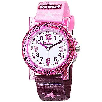 Scout Analogueic Watch Quartz Girl with Fabric Strap 1(1)