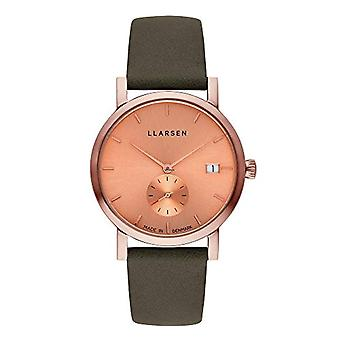 LLARSEN Analogueic Watch Quartz Woman with Leather Strap 137RMR3-RFOREST18