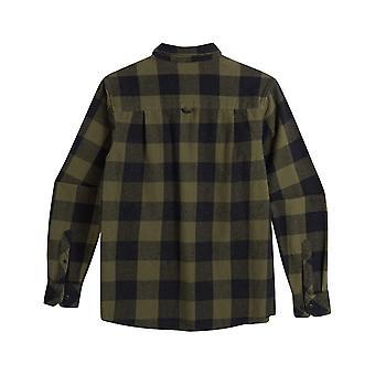 Animal Shovel Long Sleeve Shirt in Dark Olive Green