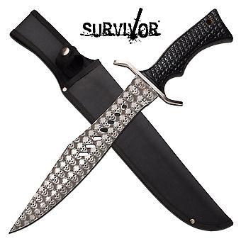 SURVIVOR SV-FIX011BK FIXED BLADE KNIFE