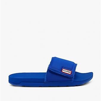Hunter Original Adjustable Slide Mens Neoprene Sandals Dragonfly Blue