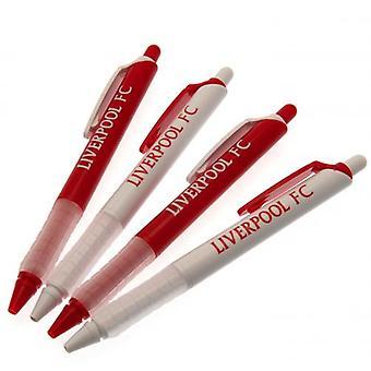Liverpool FC (Pack Of 4) Pen Set