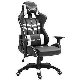 Gaming Stuhl Kunstleder Weiß