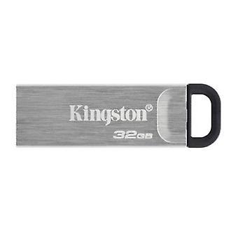 Kingston 32GB USB 3.2 Gen1 Memory Pen, DataTraveler Kyson, Metal Capless Design, R/W 200/60 MB/s