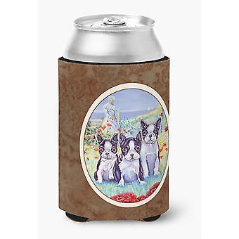 Caroline'S Treasures 7005Cc Boston Terrier Trio Can Or Bottle Hugger, Multicolor