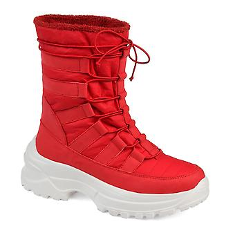 Journee Collection Womens Icey Fashion Winter Boot