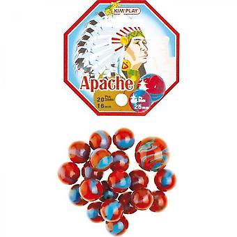 Kimplay 20 + 1 Apache Balls