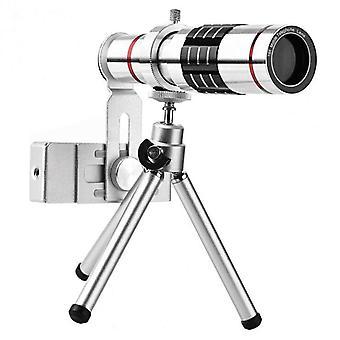 18X optischer Zoom Teleskop Kamera Objektiv Stativ Kit und Rückseite Hülle Abdeckung für iPhone 7