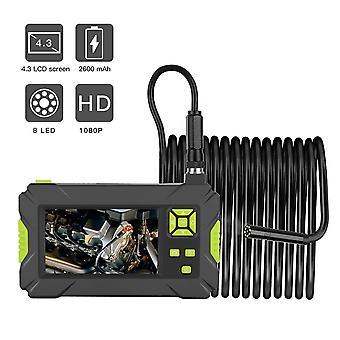 LCD-käsikäyttöinen teollinen boreskooppi 4,3 Tuuman HD 1920X1080P Digitaalinen boreskooppi Värikäs näyttö 8,0mm