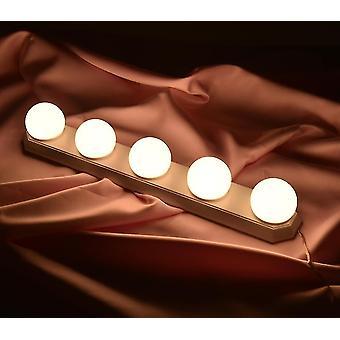 Led-lamput 5 himmennettävä led-polttimo peili valot Hollywood tyyli meikki lamppu