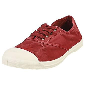 Natural World Old Lavanda Womens Casual Shoes in Burgundy