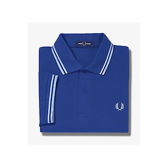 Fred Perry Twin Tipped Polo Shirt (1964 Royal)