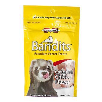 Marshall Bandits Premium Ferret Treats - Chicken Flavor - 4 oz