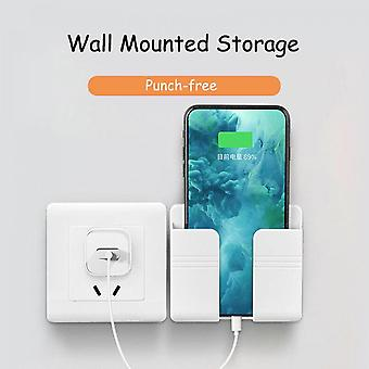 Wall-mounted Mobile Phone Holder Storage Box