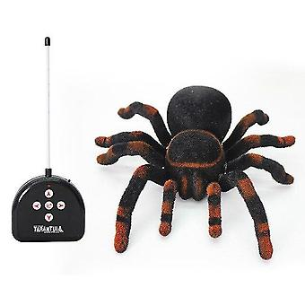 Robotic toys rc spider realistic infrared rc animal tarantula with lighting remote control |rc animals