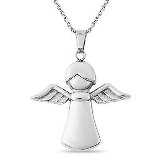 TJC Designer Halskette für Frauen Geschenk für sie in Edelstahl