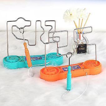 Elektroschock Toy Touch Maze Draht Spiel für Kinder Kollision