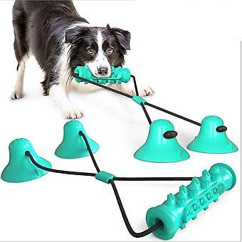 Dog Toy Pet Double-sucker Elastic Stretchable Molar Ball